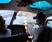 Votre baptême hélicoptère dans le Morbihan avec Helibreizh